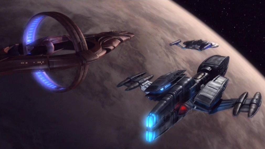 Romulan Ships FLEETYARD STAR TREK mo...